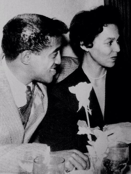 Dorothy Dandridge and Sammy Davis, Jr.