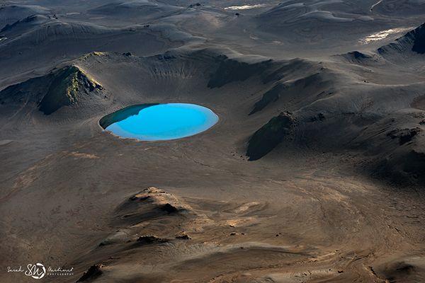 Iceland from bird's eyes