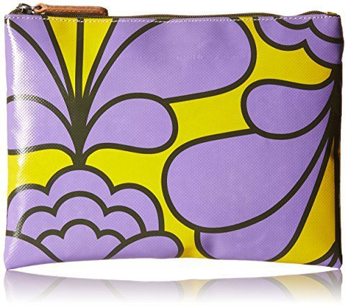 New Trending Purses: Orla Kiely Damask Flower Printed Tarpaulin Large Zip Wallet, Lilac, One Size. Orla Kiely Damask Flower Printed Tarpaulin Large Zip Wallet, Lilac, One Size  Special Offer: $53.00  211 Reviews Damask flower' print large zip pouch inside details include contrast binded seams. Silver colored hardware and leather trims.Damask flower printed tarpaulin large zip...