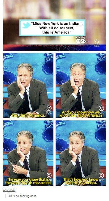 Poor Jon Stewart.
