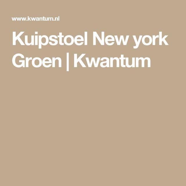 Kuipstoel New york Groen   Kwantum