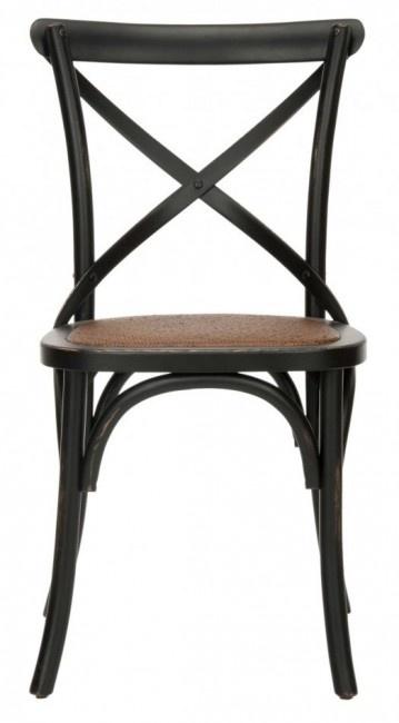 Safavieh Home Furnishings   Franklin X Back Chair   Black   Set Of 2,  $390.00