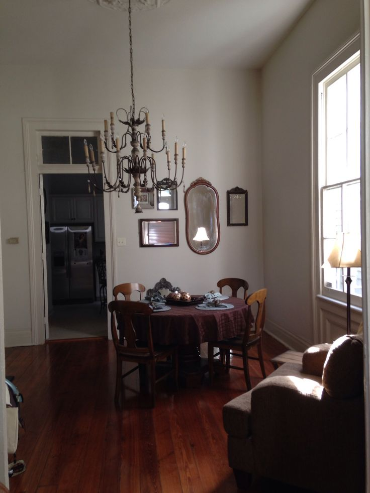 Dining Room In My New Orleans Shotgun...starting To Decorate... Shotgun  HouseHouse InteriorsNew ... Part 67