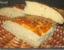 Khobz eddar ou khobz koucha pain maison algérien au sésame
