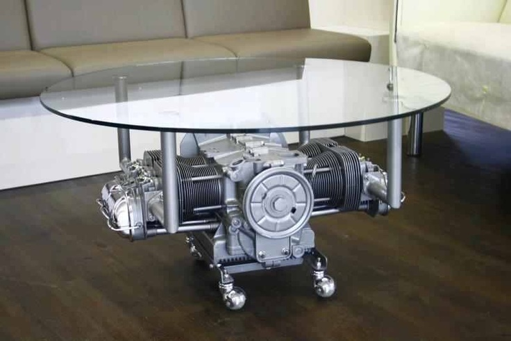 vw engine table engine art pinterest tables engine and news. Black Bedroom Furniture Sets. Home Design Ideas