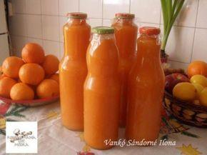 Tartósító, cukor nélküli valódi gyümölcslé házi receptje