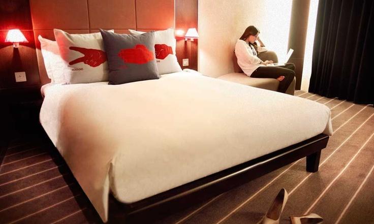 The Hoxton, hotel. Localizado na borbulhante área de Shoreditch, hotel design com preços bem mais em conta que os demais em Londres.
