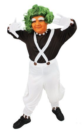 CHILDS CHOCOLATE FACTORY WORKER COSTUME GIRLS BOYS SCHOOL BOOK WEEK CHARACTER FANCY DRESS ILOVEFANCYDRESS® (SMALL)
