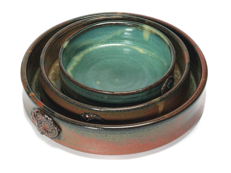 Nesting bowls from www.earthbornpottery.net
