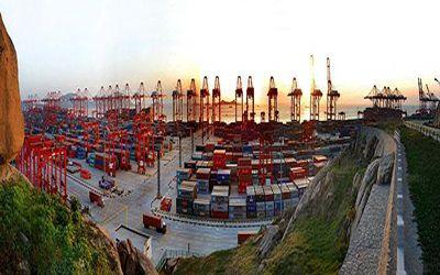 Port Of Shanghai Pushes China's International Shipping  #internationalcargoships #watercargoshipping #internationalshipping #cargotransportation