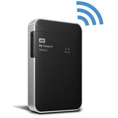 "Disco Duro USB 3.0 WD 1TB 2.5"" My Passport Wireless Negro / Plata WDBK8Z0010BBK-NESN (Western Digital) - DIGITALIFE, Todo en Tecnología"