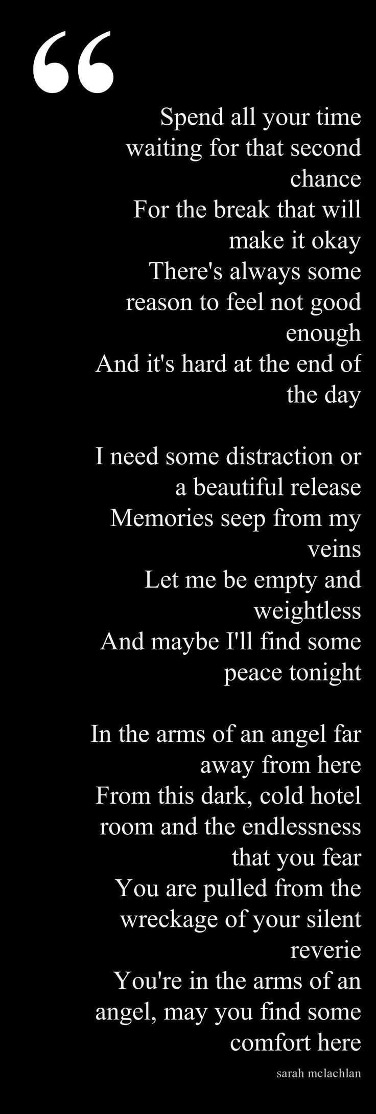 In the Arms of the Angels...Sarah McLachlan  ...for Ray in heaven♥