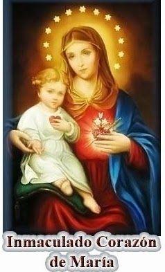 Oración al inmaculado CORAZON DE MARIA