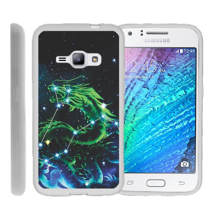 Galaxy J1, J120, Amp 2 FLEX FORCE Flexible Slim Fit Case - Dragon Stars