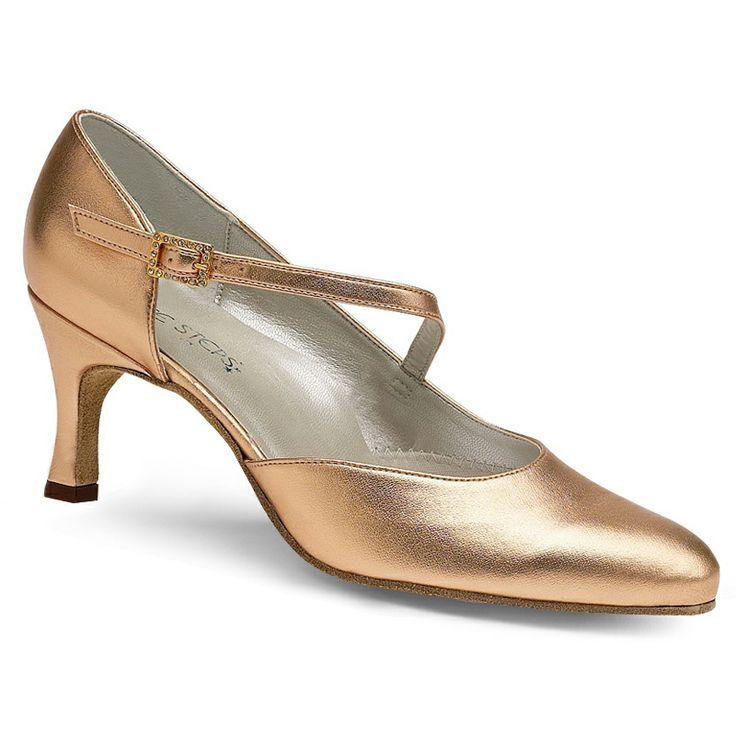 Ballroom Dance Shoe Diagonal Strap