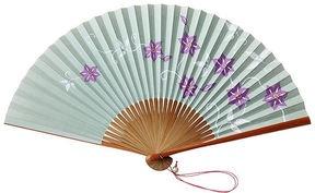 Classic japanese fan / ShopStyle: 高島屋オンラインストア 白竹堂京扇子小紋だよりセット(鉄線唐草紋)