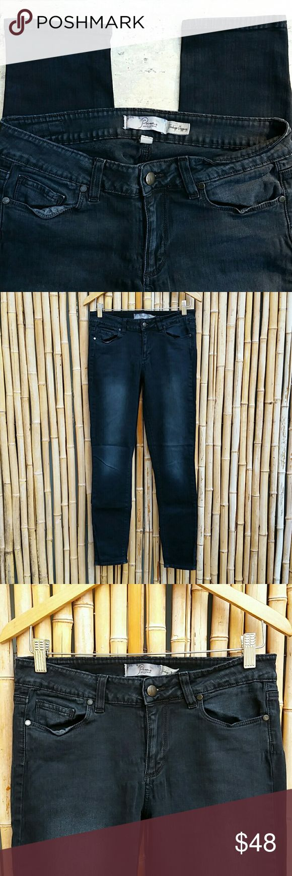 """PAIGE Premium Denim Black Verdugo Skinny 30 PAIGE Premium Denim Verdugo Skinny! 5 pocket styling, stretch, washed black, factory fading, no rips, fraying or stains. Great condition!   Color Washed Black Label size 30 Waist 15"""" Rise 8.5"""" Inseam 29"""" Leg opening 5"""" 98% cotton/2% spandex   🚫No Trades 🙄😘  💲Bundle & Save!💲😀 🔘Use OFFER button to negotiate👍🤑 ❔Please Ask ?'s BEFORE you Buy🤔😃 💕Thank you for shopping my closet!💕 Paige Jeans Jeans Skinny"""