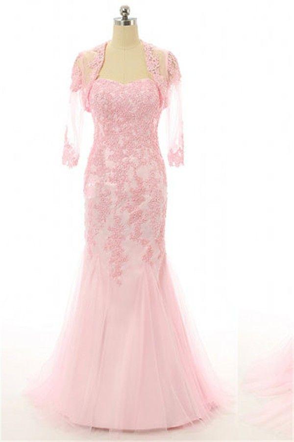 36 best Light Pink Prom Dresses images on Pinterest | Formal evening ...