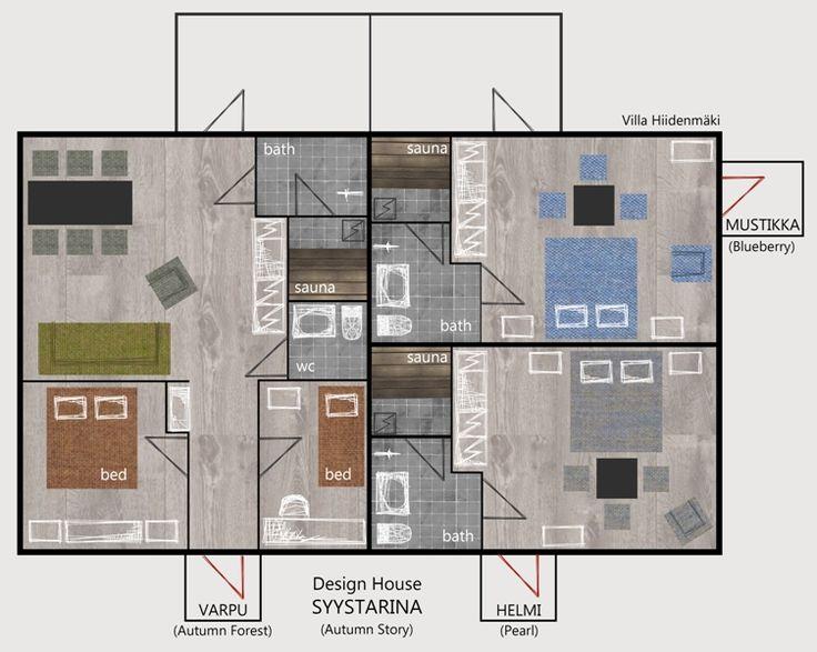 Floor plan of Syystarina