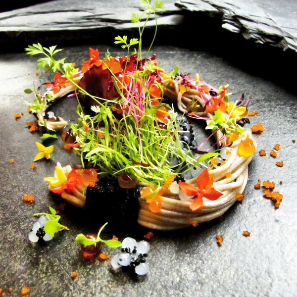 Soba. Pierre Andre - The ChefsTalk Project #plating #foodart #gastronomy
