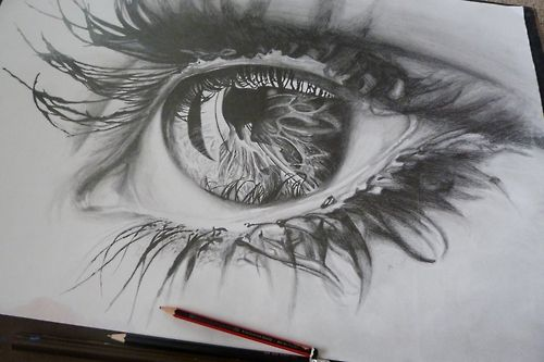 One Of The Best Eye Drawings Iu0026#39;ve Seen | Art Inspirations | Pinterest | Beautiful I Am And ...