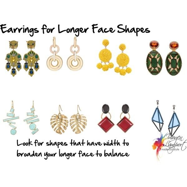 How to choose earrings to flatter your face shape