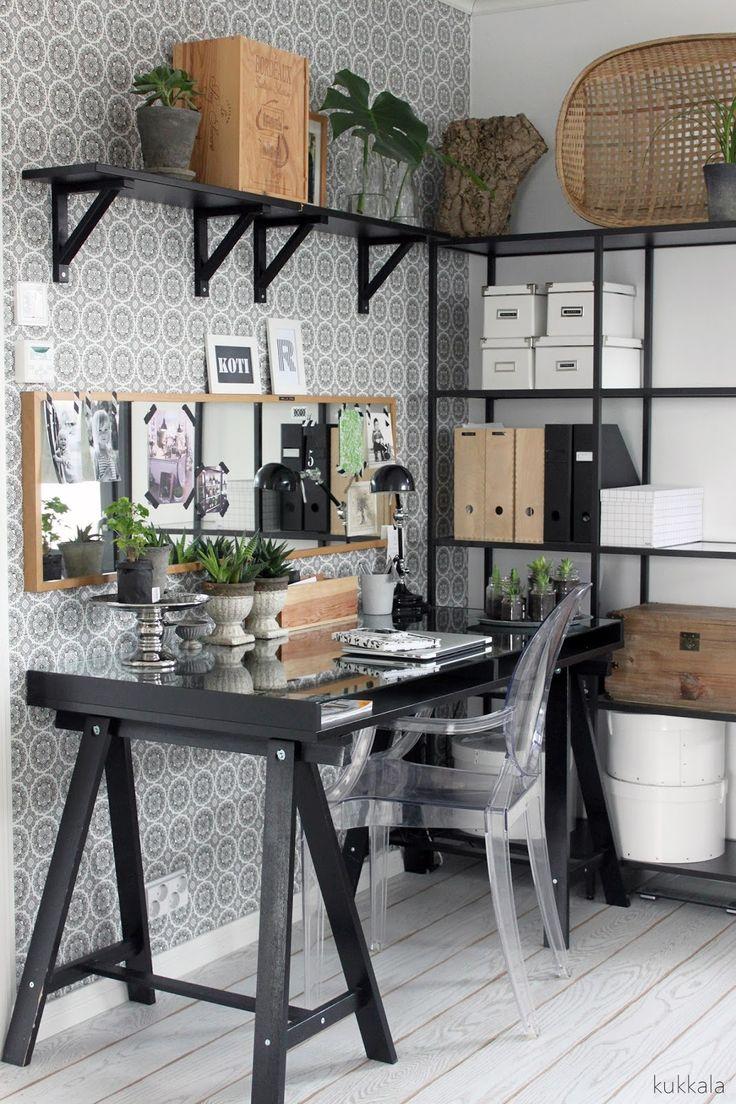 KUKKALA: #työhuone #workspace