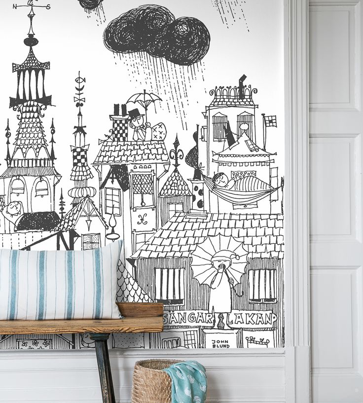 How To Style Boys Rooms | Ingalunda Wallpaper by Borastapeter | Jane Clayton