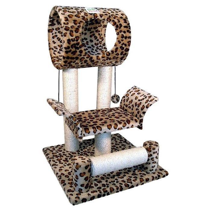 found it at wayfair callie leopard print cat tree in brown u0026 black
