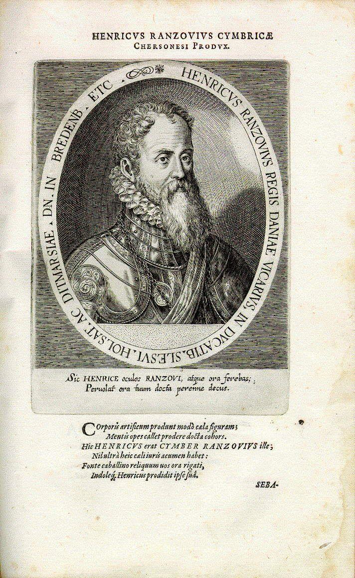Heinrich Rantzau (1526-1598), Statthalter des dänischen Königs in Holstein
