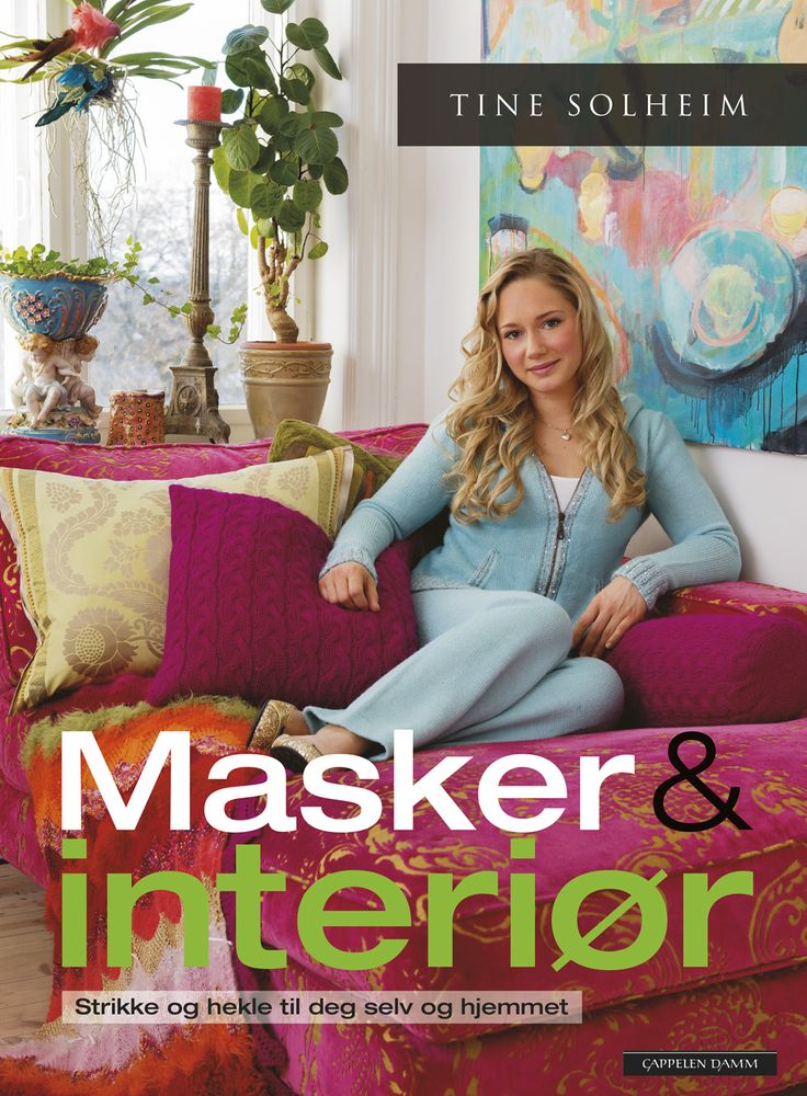 Masker & Interiør: Knitted trows, blankets, pillows and lots of other cosy stuff for home & cottage, and comfortable clothes for you and your family.