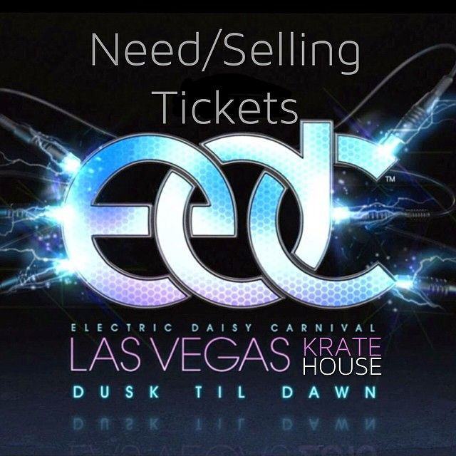 |With #EDC being sold out, thought we'd help you guys find tickets| _______________________________ |If you are selling or are in need of #EDCLV passes comment or tag friends here|  _______________________________ |PLEASE COMMENT IF ITS A REASONABLE PRICE|  _______________________________ #edc #edclv #edcny #edcvegas #electricdaisy #pasqualrotella #insomniac #ilovehousemusic #housemusic #deephouse #techhouse #progressivehouse #plur #perler #festivalseason #rave #kratehouse #theoriginal…
