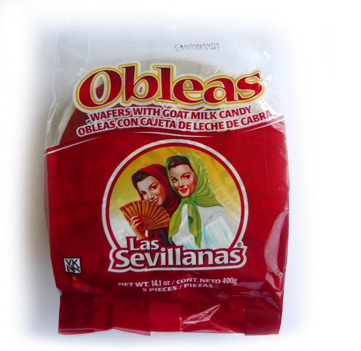 Obleas De Cajeta Oblea...