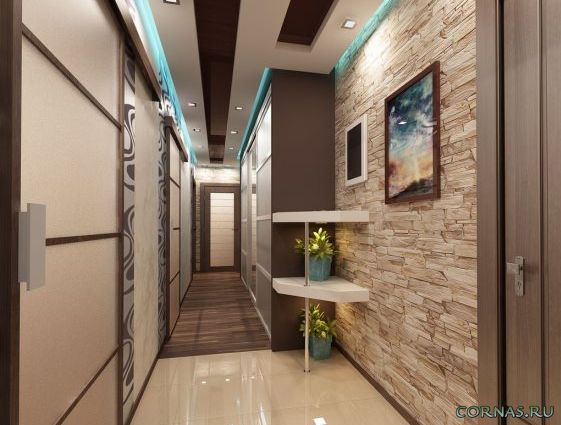 Дизайн коридора в квартире фото (7)