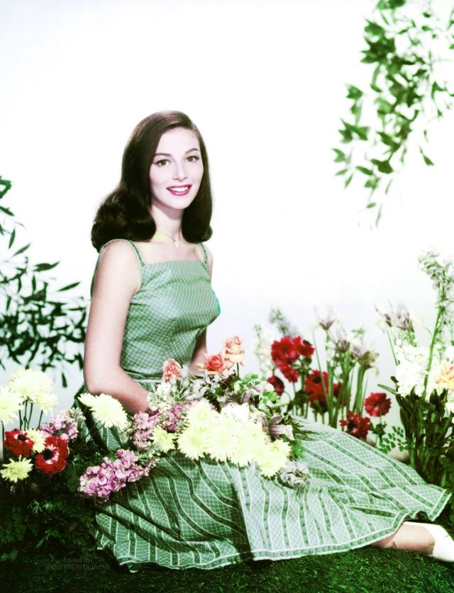 Pier Angeli in the 1950s