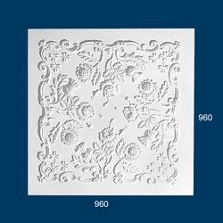 decorative plaster panel