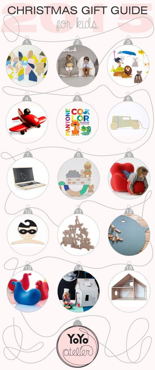 Christmas gift guide 2015 by YoYo atelier. La lista di Natale 2014 per bambini di YoYo atelier  #christmas #xmas #natale #christmaswishlist #listadinatale #regalidinatale #kids #children #bambini #toys #giochi