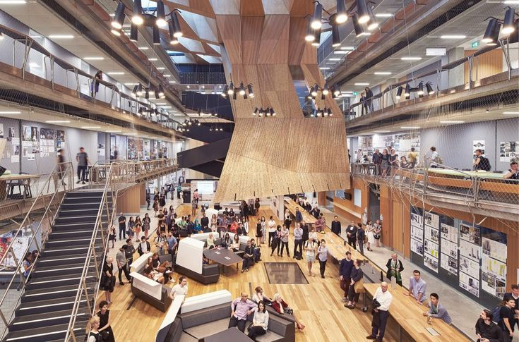 Melbourne School of Design University of Melbourne / John Wardle Architects  + NADAAA