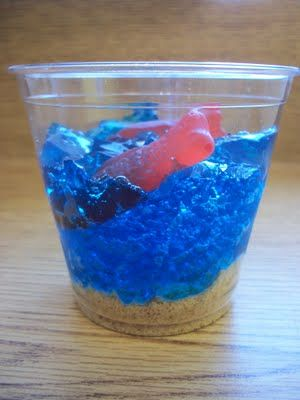 fish themed snacks - Google Search