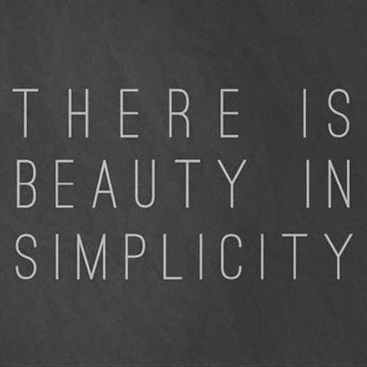 Simplicity Is Key To Achieving Natural Beauty