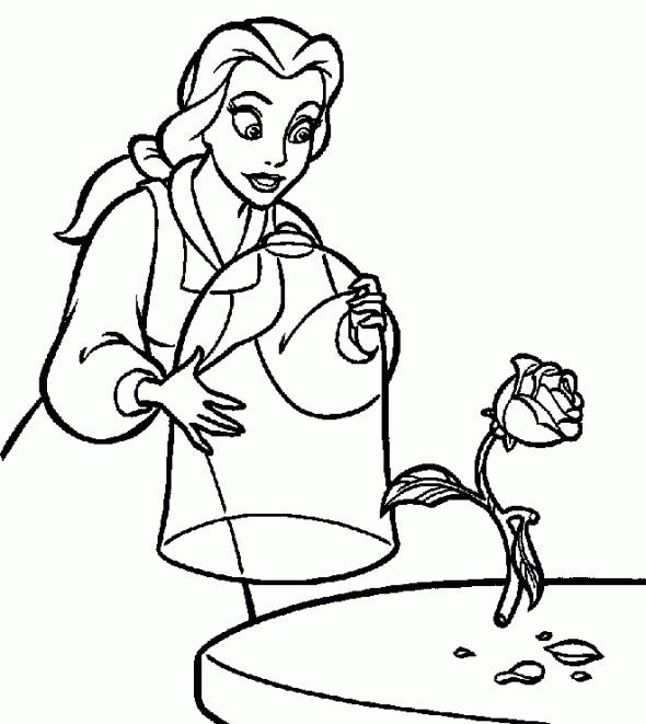 disney princess print out coloring pages