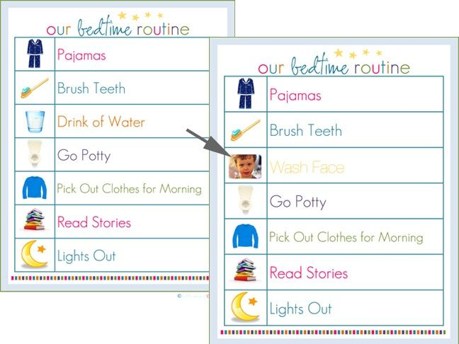 172 best Bedtime Routines images on Pinterest Bedtime routines - pick chart
