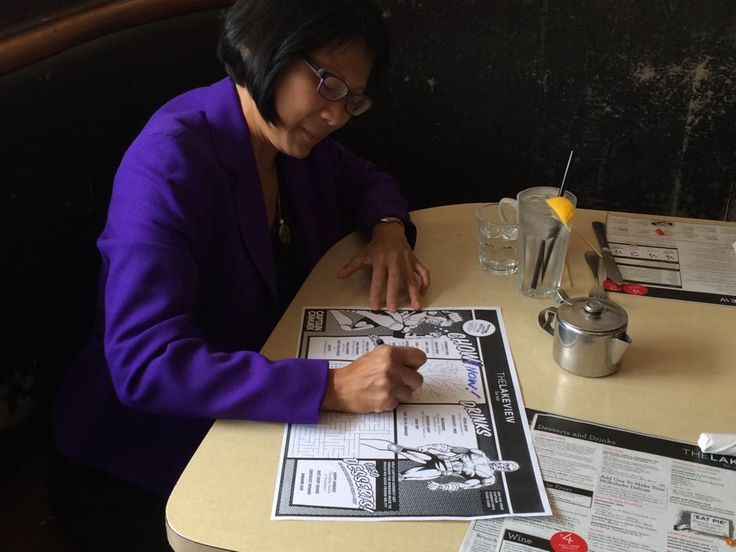 2014: Olivia Chow at The Lakeview