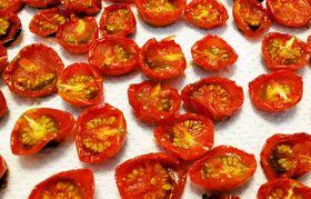 ミニトマトDEセミドライトマト&保存法♪