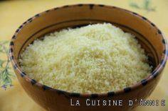 Cuisson express de la semoule de couscous