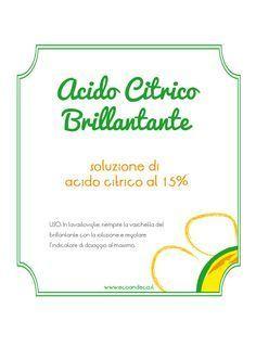 acido-citrico-brillantante... free labels