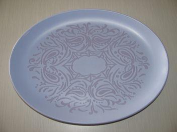 Crown Lynn Dorothy Thorpe Brocade Platter