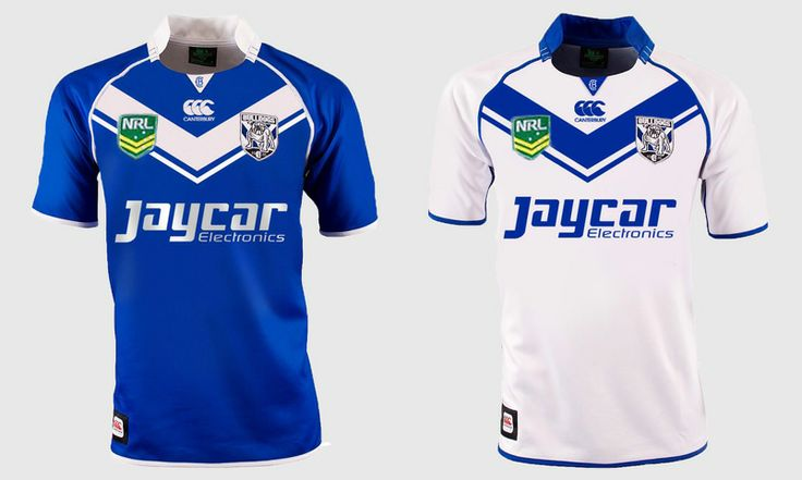 Canterbury Bankstown Bulldogs NRL jersey re design. View the full project at www.ruffhausdesign.co.nz