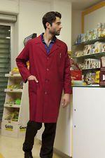 PAGAMENTO ANCHE ALLA CONSEGNA Camice Grembiule Lavoro Uomo Donna Manica lunga Laboratorio Abbigliamento Abiti