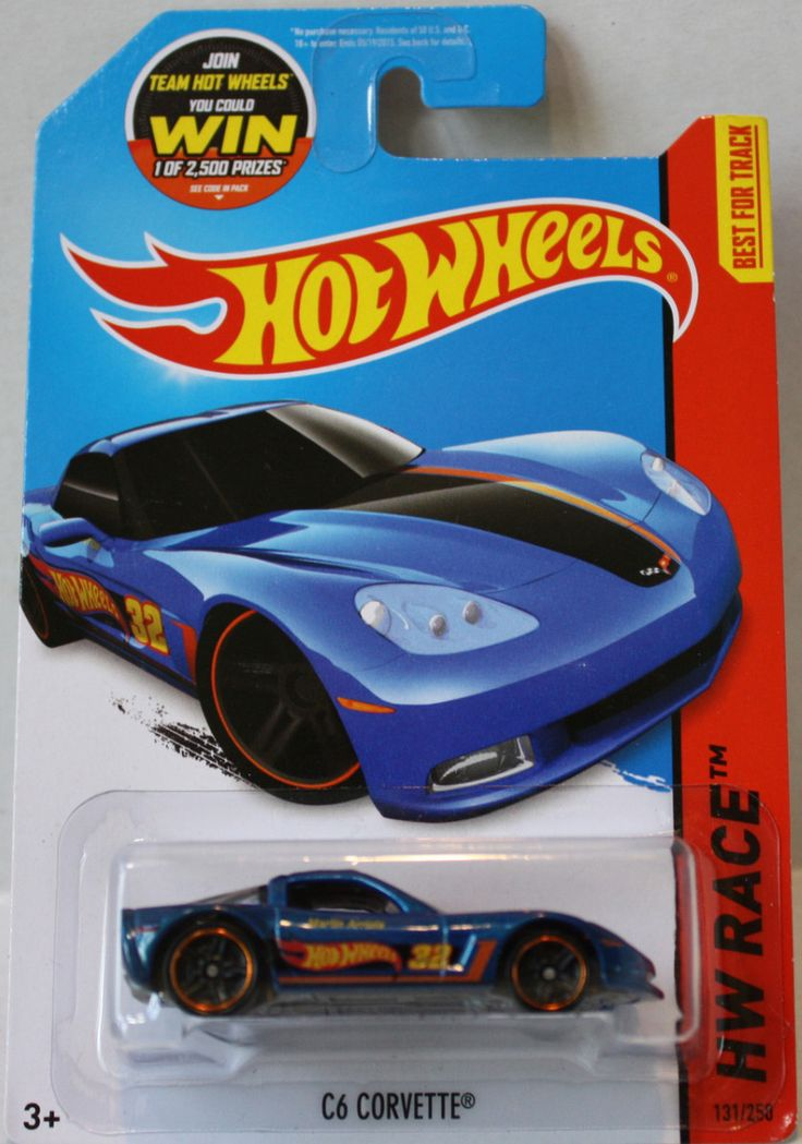 (TAS021308) - 2015 Hot Wheels Die-Cast C6 Corvette
